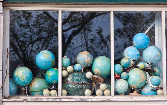 Globe in a Window