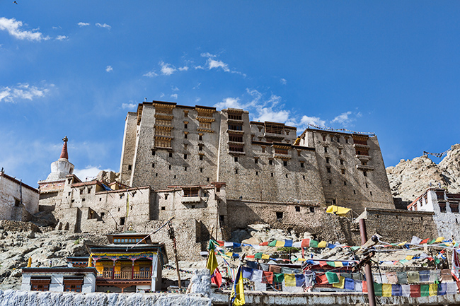 Palace in Leh, India