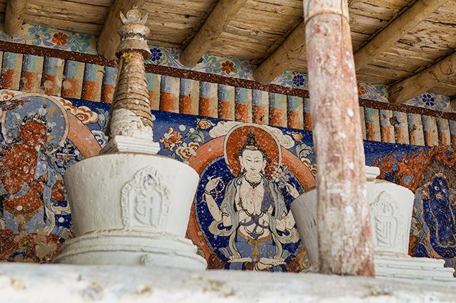 Stupa in Leh, India