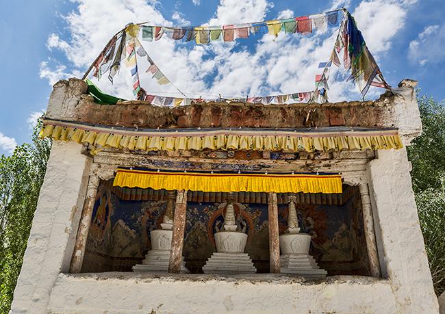 Temple Leh, India