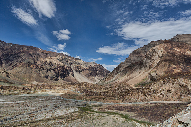 The Road from Leh to Keylong