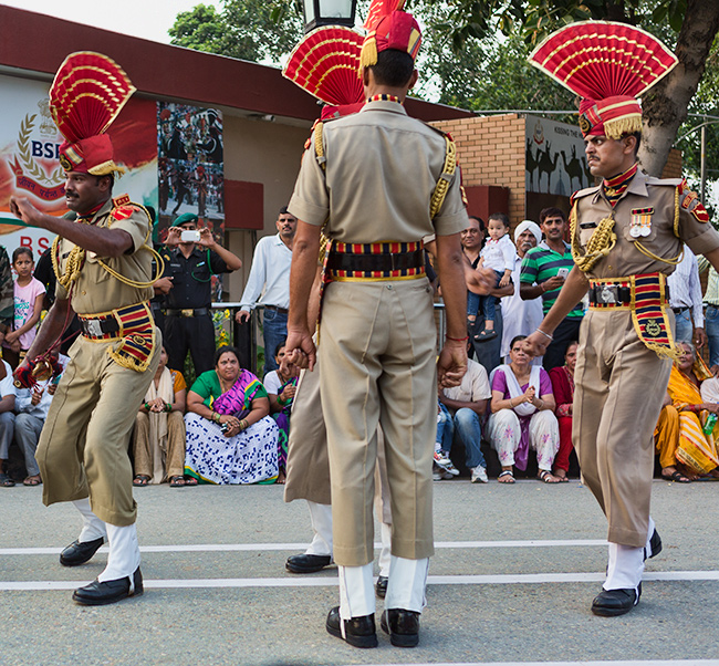 Wagah Border Guards