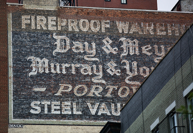 Old Advertising in New York City 1