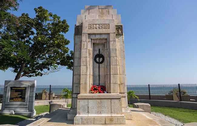 War Memorial in Georgetown