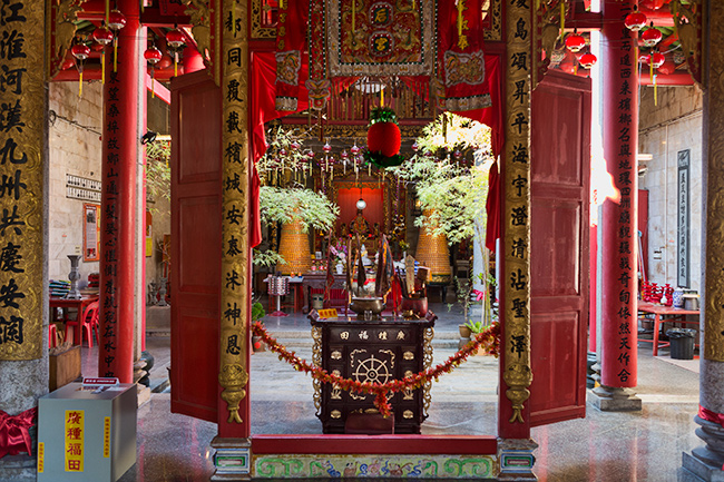 Chinese Tempel in Georgetown