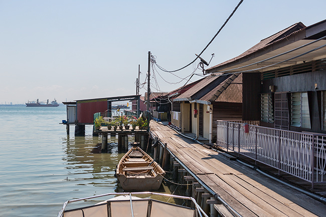 Clan Jetty in Georgetown