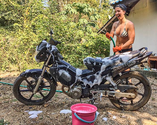 Motorbike Laundry
