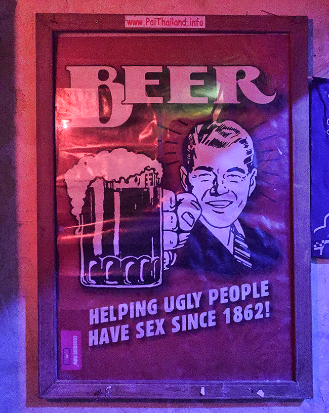 Beer helps to have Sex