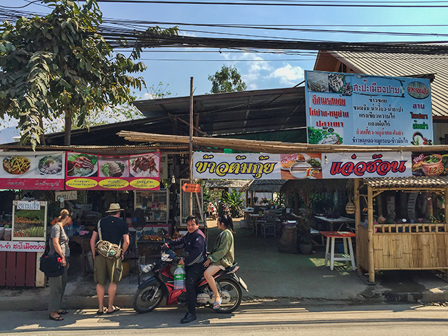 The best Restaurant in Pai