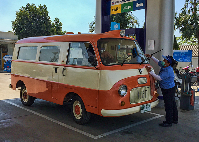 Old Fiat Bus
