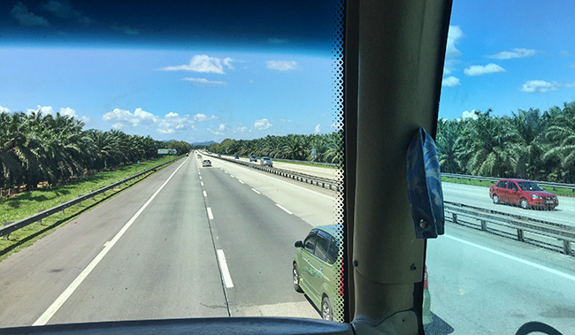 On the way to Penang