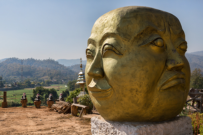 The Four Faced Buddha
