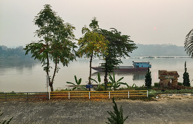 Morning at the Mekong