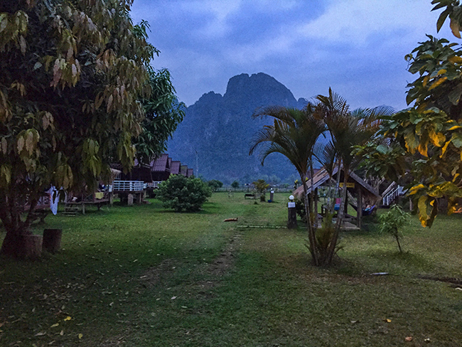 Banana Bungalow in Vang Vieng