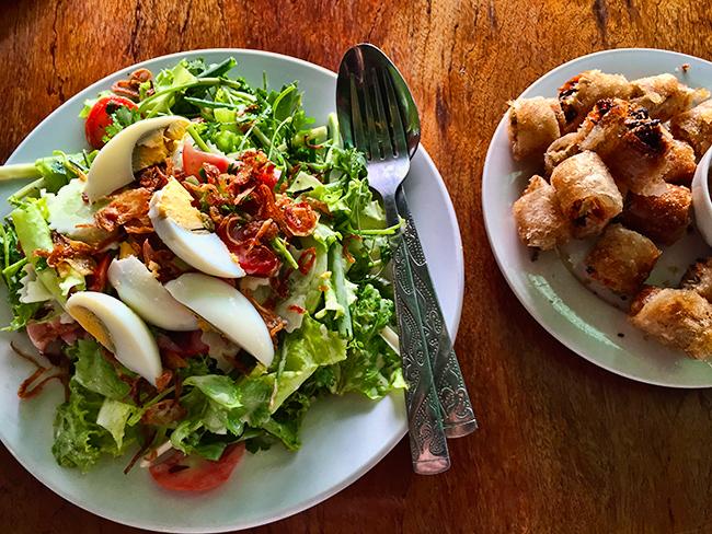Lao Salad in Vang Vieng