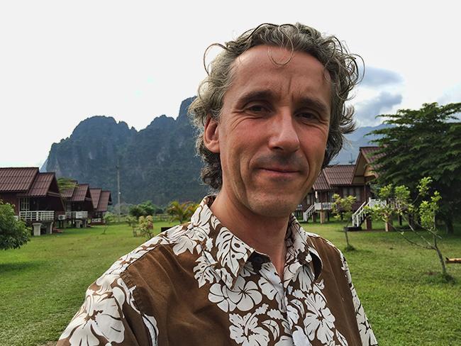 Marc in Vang Vieng