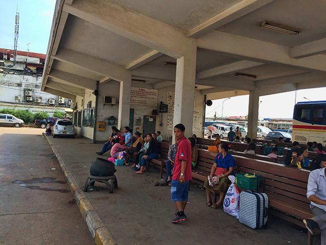 Bus Station Vientiane