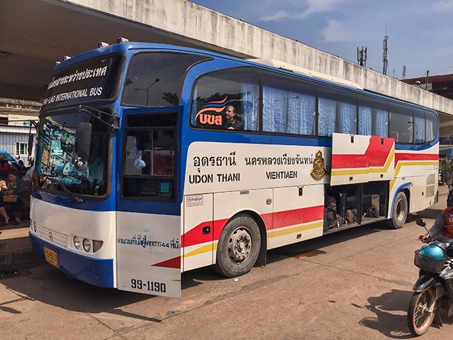 The Border Bus Thailand Laos