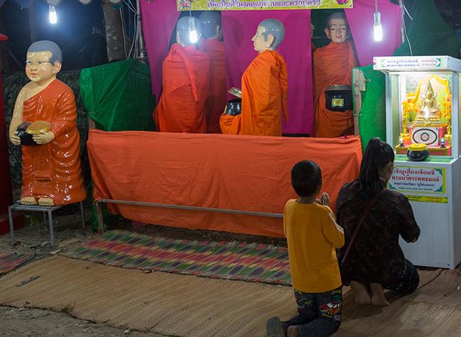 Monk go round