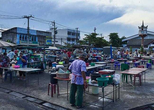 Night Market in Prachuap Khiri Khan