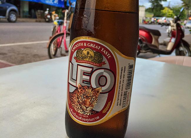 Ice cold Leo