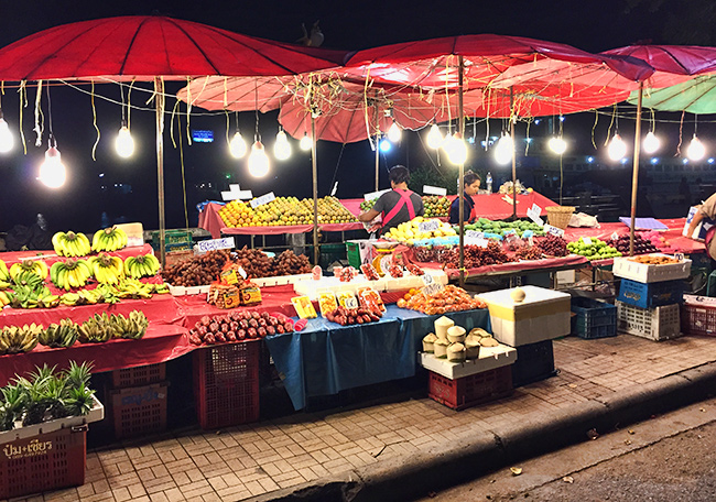 Evening Fruit Market