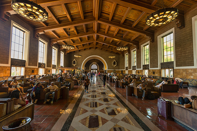 Waiting Room Union Station Los Angeles