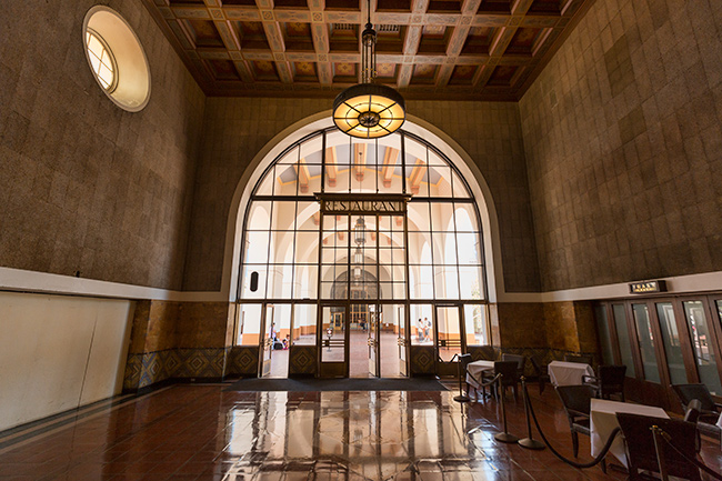 The old Restaurant at Union Station Los Angeles