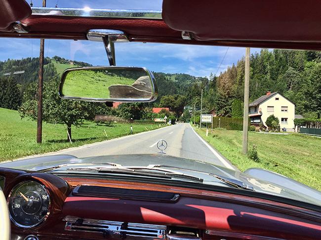 On the way to  Austria