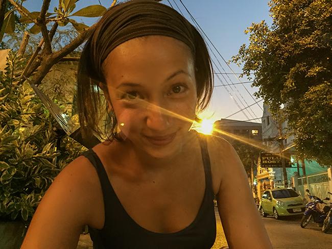 Simona in Bangkok
