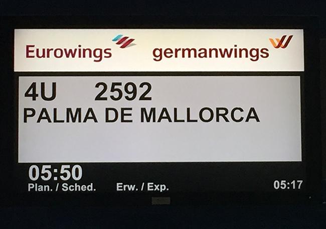 Airport Stuttgart - Mallorca