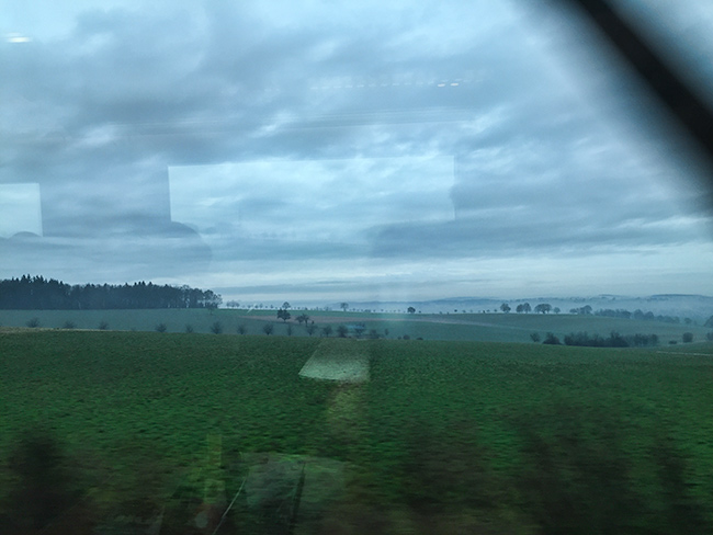 Train to Frankfurt