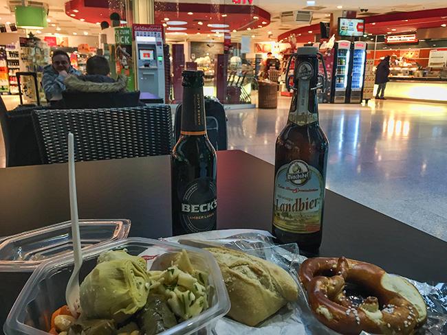Frankfurt Airport - Last good beer before Asia