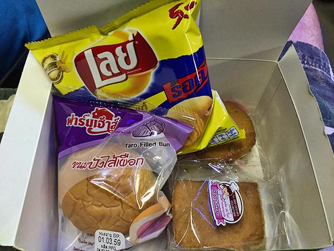 Bangkok Bus Lines food