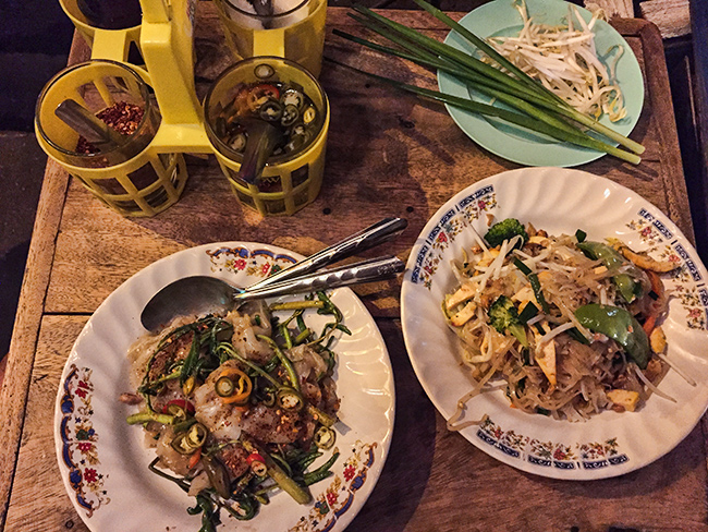 Pad Thai and Flat Noodles