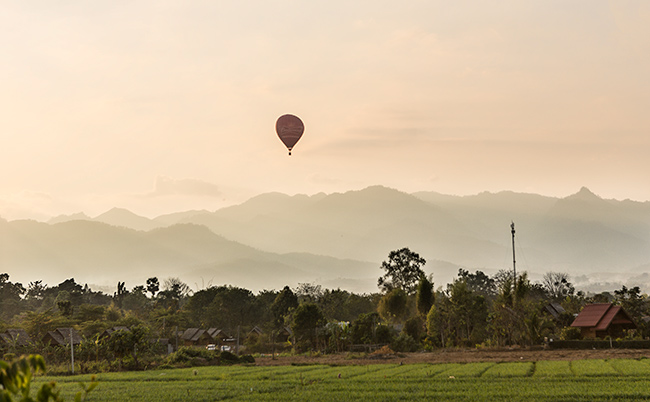 Balloon over Pai