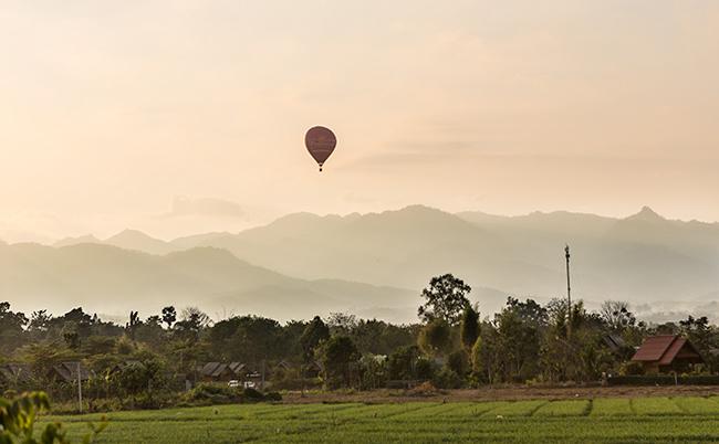 Balloon over Pai