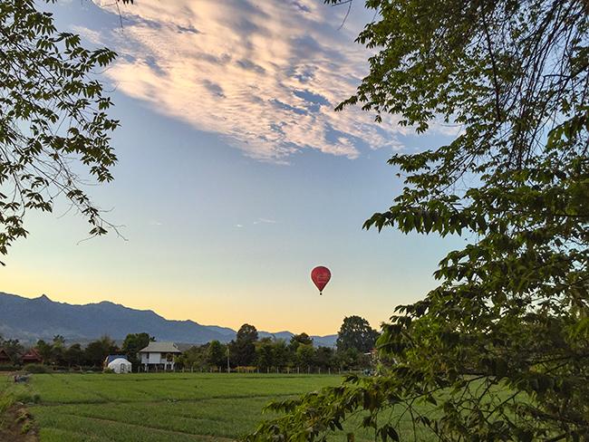 Hot Air Balloon over Pai
