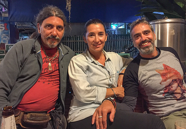 Raquel, Jose and Mitsos