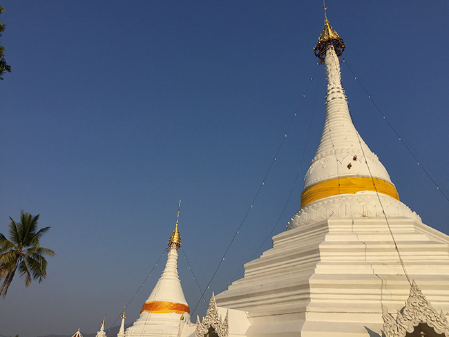 Tempel over Mae Hong Song