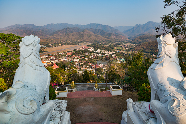 Temple over Mae Hong Song