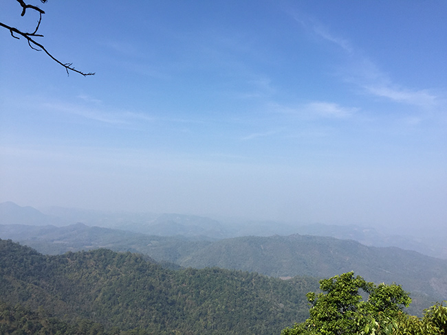 View towards Mae Hong Song