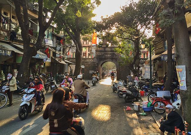 Archway in Hanoi