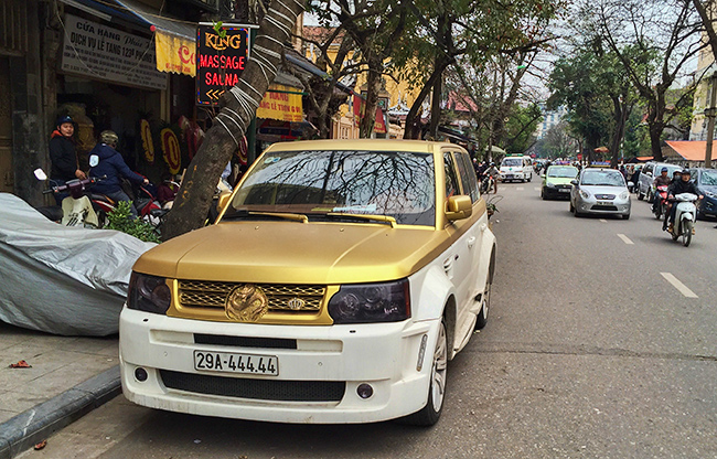 Ugly Range Rover