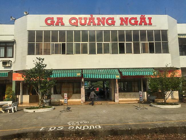 Train station in Vietnam
