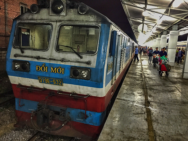 Train station in Saigon