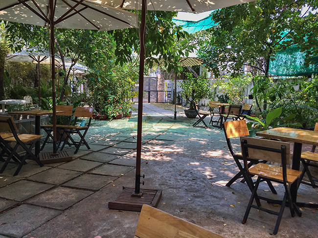Garden at ZU Coffee