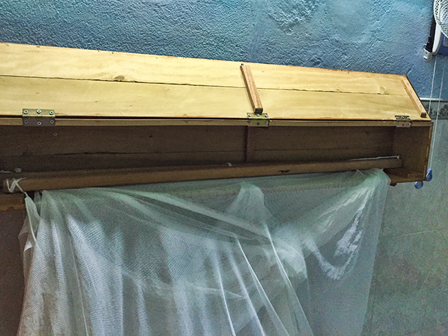 Old style mosquito net