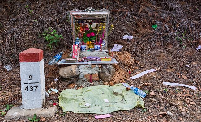 New shrine on the street