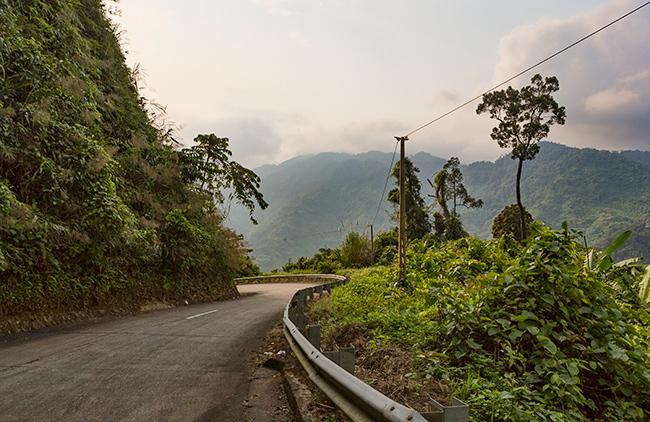Open road - no traffic